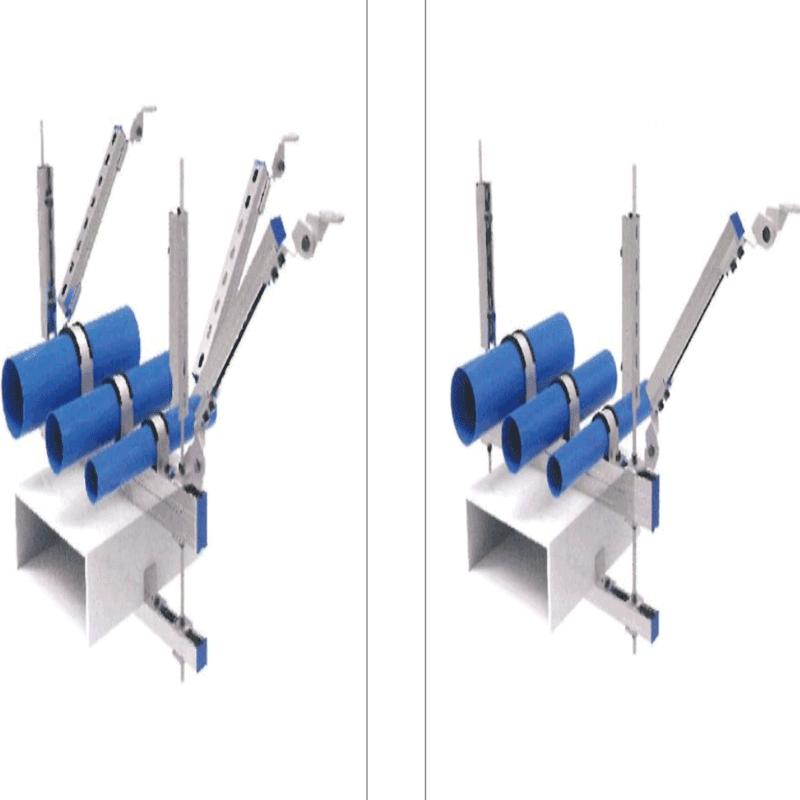 海南抗震支架(组合管道)